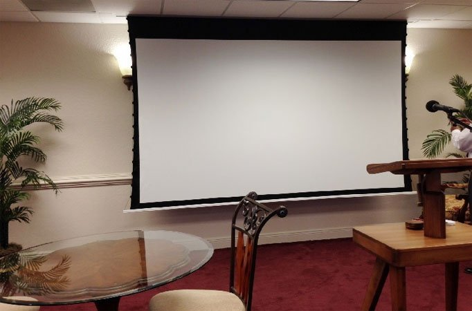 Elite Screens ETB100HW2-E12 222x125 см, CineWhite, BD 30,5 см