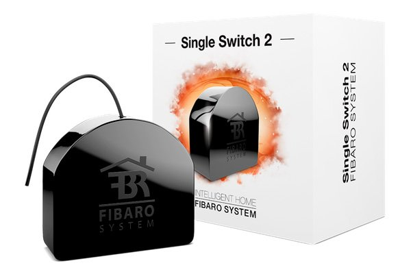 Умное реле Fibaro Relay Switch 1x2.5kW, Z-Wave (FGS-212_ZW)